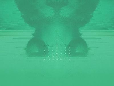 June 2018 calendar abstract wallpaper download minimal glitch
