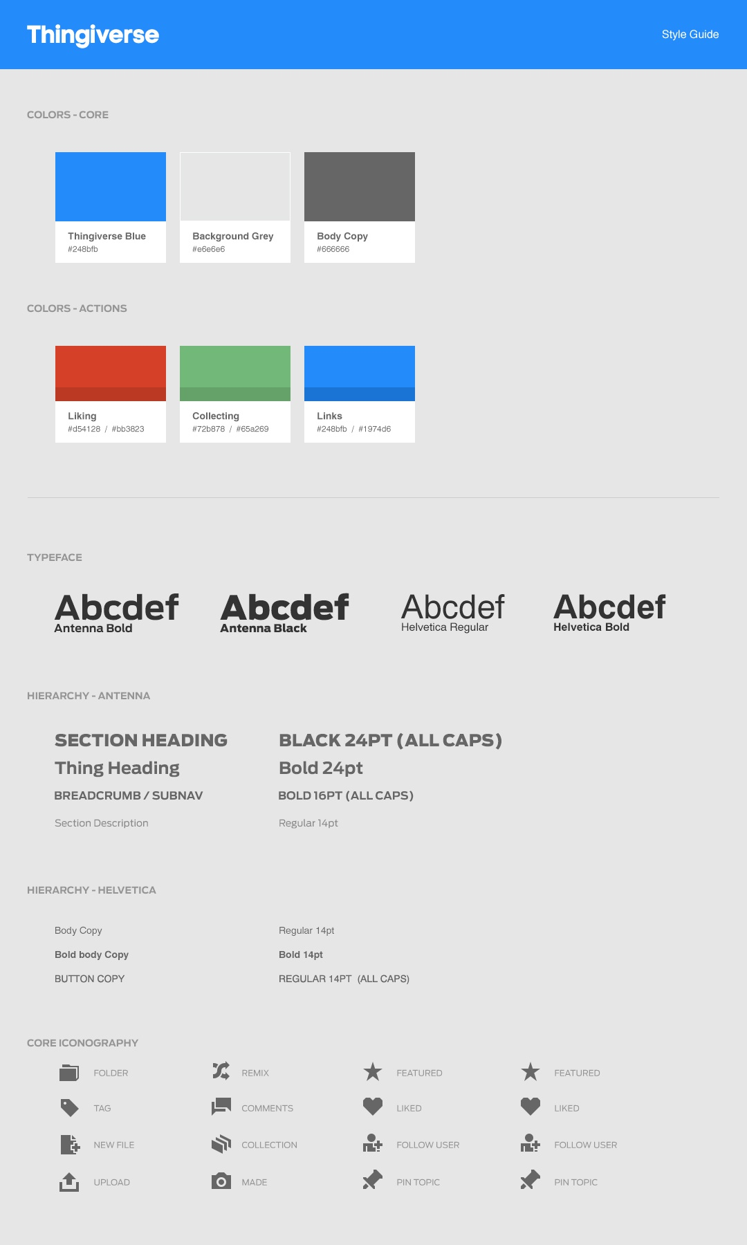 Style guide page1