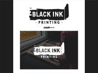 BlackInk Printing logo