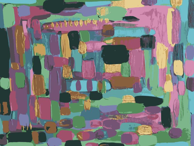 Colorful Blocks illustration abstract art patterndesigner patterns patterndesign