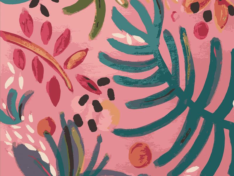 Floral Pattern patterns art patterndesign branding illustration painting pattern art handmade patterndesigner pattern