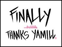 Thanks Yamill!