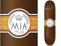 MIA Skateshop Cigar Deck