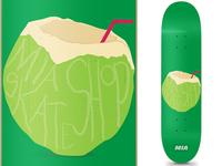 MIA Skateshop Coconut Deck