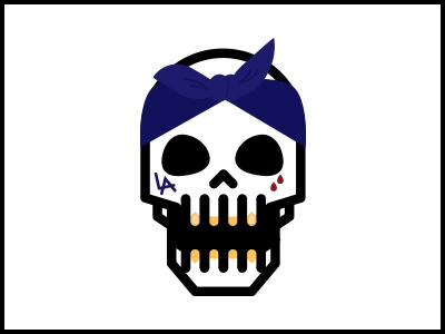 Skulls Music Series hip-hop rap rapper la los angeles thug skull bandana tattoo
