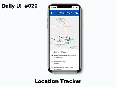Location Tracker @dailyui020 020 dailylogochallenge daily daily ui dailyui daily 100 challenge