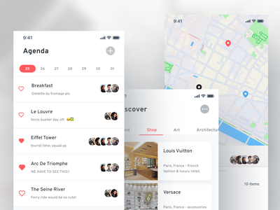 Travel App - Plan & Explore app design explore friends travel app ui branding mobile design figma design
