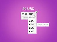 Currencyr Mockup