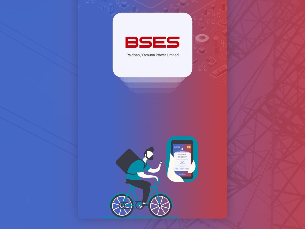 BSES Electricity Payment Designs creative typography app button clean design logo font design design color adobe photoshop cc