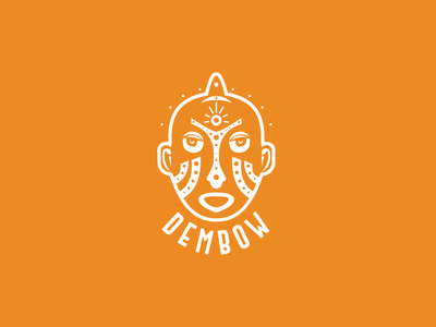 DEMBOW african brand branding indentity logotype logo design logo