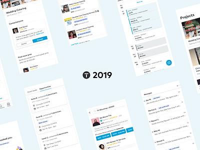 Medium post | Thumbtack Product Design 2019 Highlights product ux design research 2019 product design design ux ui