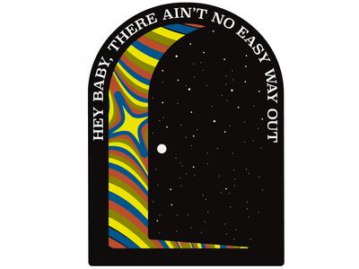 Tom Petty Sticker Design