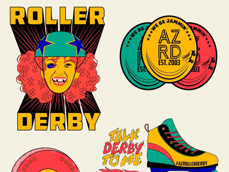Roller Derby Visuals