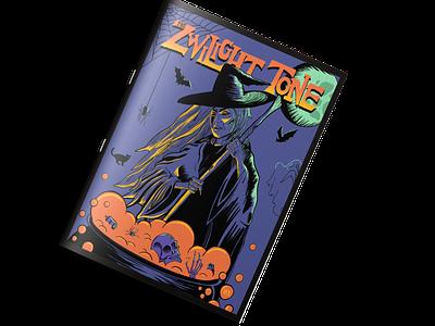 The Zwilight Tone Zine #03 spooky halloween design zines print magazine witch halloween zine