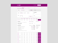 Renfe booking concept