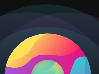 Orbit exploration vector illustration inspiration design