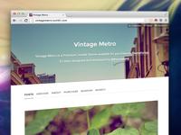 Vintage Metro: Update