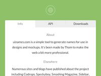 uinames.com API