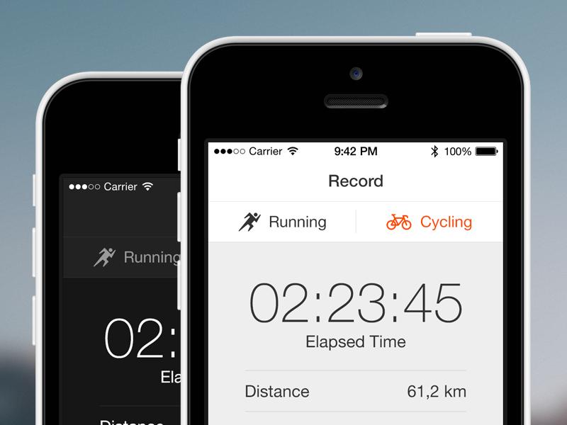 Strava Redesign strava redesign mobile ios iphone app icons