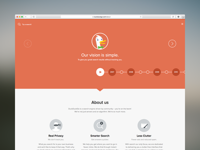 About Page Redesign