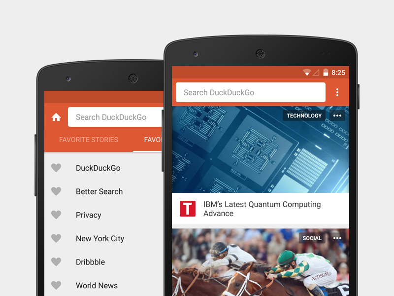 Redesigned Android App mobile lollipop material design ui redesign app android