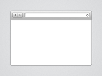 Mini Browser Window - Freebie
