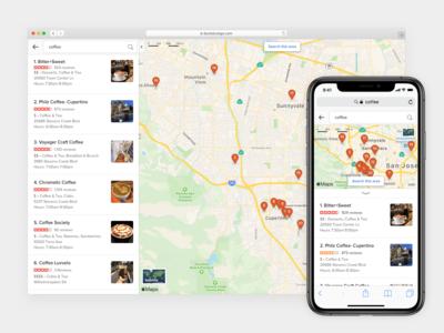DuckDuckGo Maps Tab