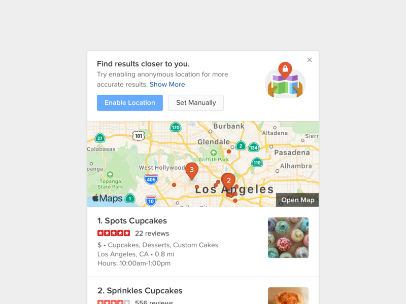 Location 📍 search serp module duckduckgo privacy location map