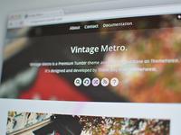 Vintage Metro Theme