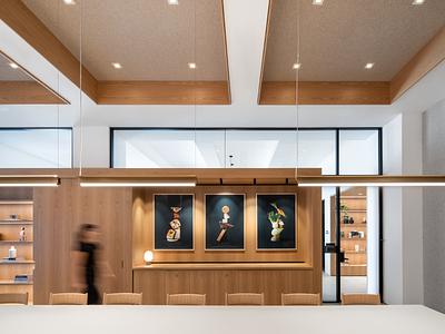 The Kitchen Concept and Spatial design hygge danish design scandinavian design scandi design workplace 3d design architecture design interiors office design materials interior design interior architecture branding architecture