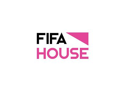 FIFAHOUSE / Logo Design / Georg Gritsai / gggvisuals fifa21 fifa20 fifa fifahouse logo design logo branding design