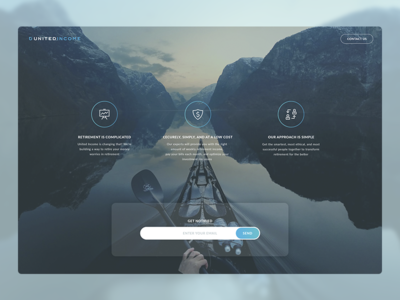 Pre launch Landing page pre launch landing page button background form logo contacts subscribe ui ux clear simple