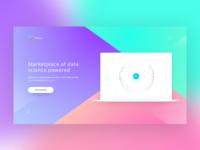 Blockchain platform startup
