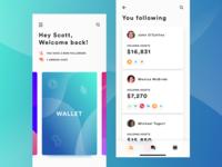 Crypto social app