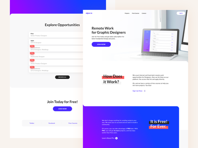 Alpa.io creative design trending sign up join now interface design uidesign uxdesign design courses free courses courses design community live website freelance platform freelance remote designer landing page design landing page webdesign responsive design website