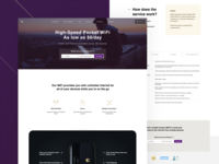Pocket WiFi landing page expensive royal elegant design elegant rent device pocket wifi input form tabs landing page design product page product design responsive website ui design ux design landing