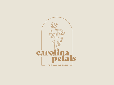 Branding for a Wedding Floral Design Company illustration vector logo weddings floral design flower design logo design branding brand identity flower logo floral wedding