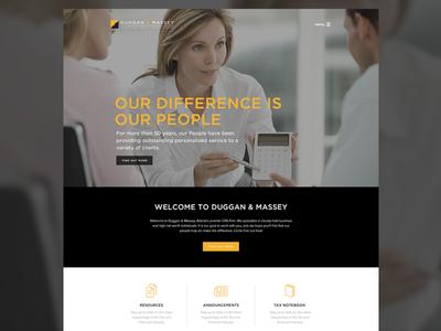 Duggan & Massey Website