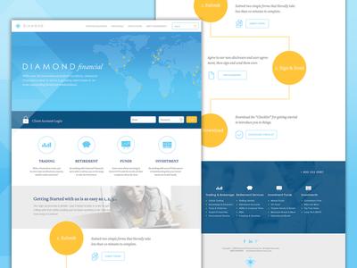 Diamond Financial Homepage