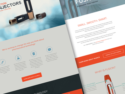 Nuance Designs UI and Web