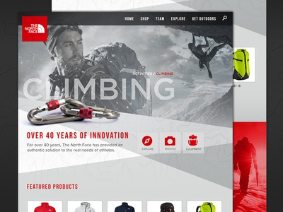 The North Face Activity Concept