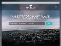 Visit Iceland redesign