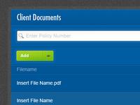 Client Documents App