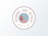 Redwood Lake Retreat Logo Version 2
