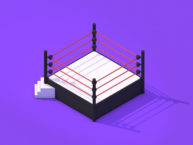 Boxing ring bed by arvind kumar dribbble boxing ring bed isometric icon ccuart Images
