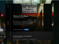 Horror Blog Homepage