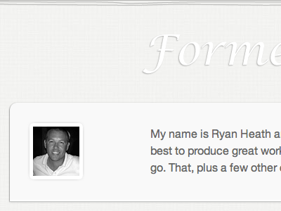 New: Formed Function Blog Header formedfunction header