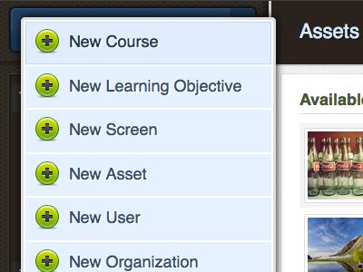 Content Builder: Sidebar Menu sidebar menu
