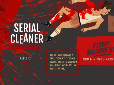 uiforgames SERIAL CLEANER menu