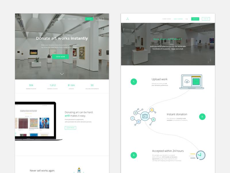 UI   Startup website one pager sketchapp sketch startup site website ux design tech mobile ui